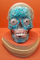 Mexican decorated skull
